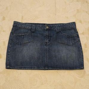 Levi's Jeans Mini Skirt